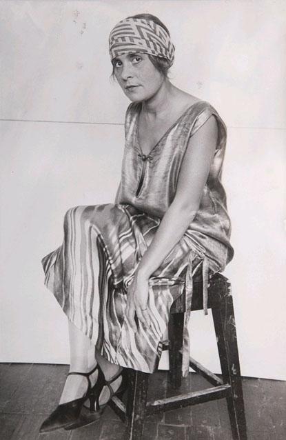 Alexander Rodchenko, Portrait of Lilya Brik, 1924