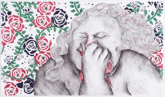 Illustrație de Vidha Saumya, courtesy Antonia Marsh