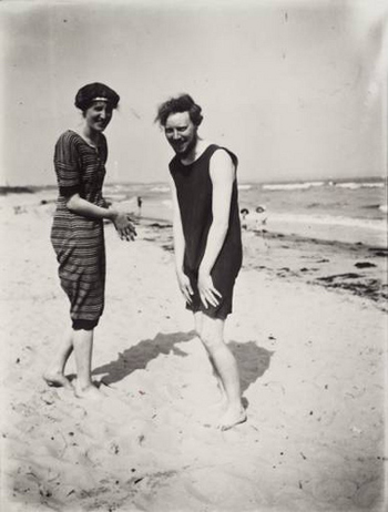 Virginia Woolf and Clive Bell, 1920's